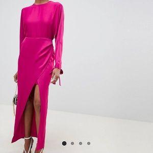 ASOS fuchsia pink dress. Size UK 8 (US 6).